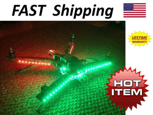 MULTI-Copter Drone LED light kit - parts /& accessories DIY KIT 9-12vDC new