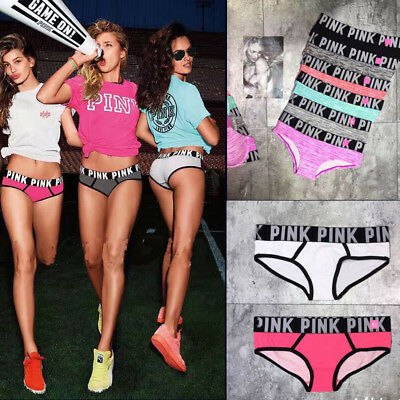 Sexy Women Printing Strap Underwear Cotton Yoga Sports Panty Brief Knicker
