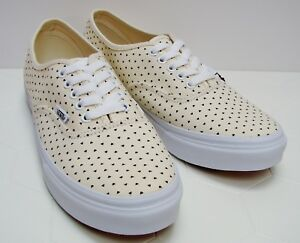 461d06228e005d Image is loading Vans-Authentic-Slim-Micro-Hearts-Classic-White-Black-