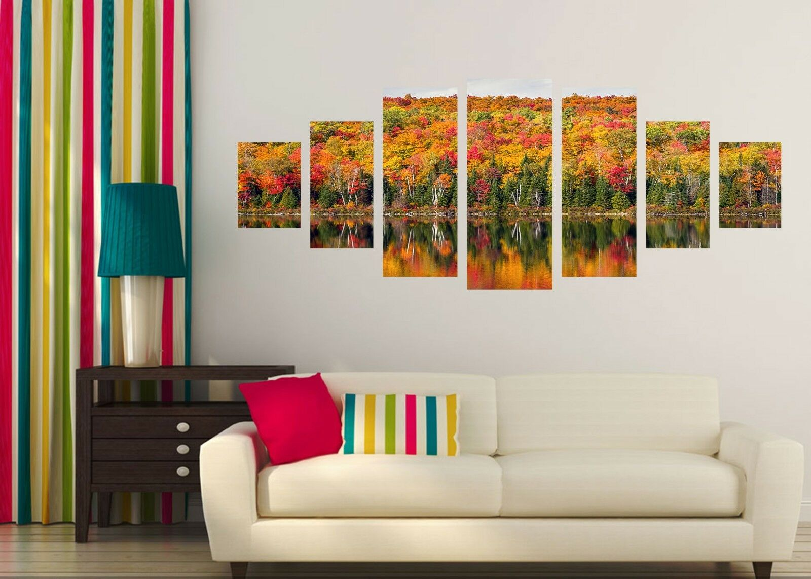 3D Lake Tree 737 Unframed Print Wall Paper Decal Wall Deco Indoor AJ Wall Jenny