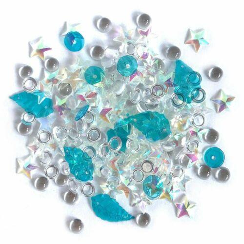 Salt Water Sparkletz Assorted Sequin Jewel Gem Embellishments for Art /& Crafts