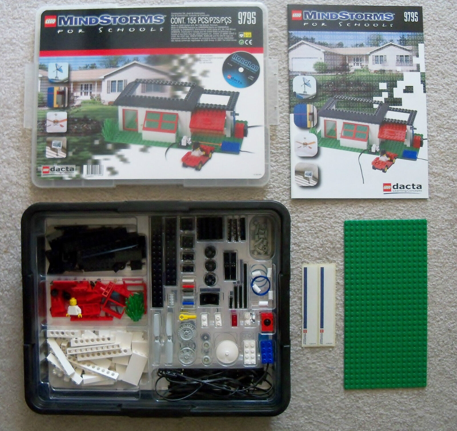 LEGO - Mindstorms ROBOLAB RCX - Rare - 9795 Intelligent House Building Set
