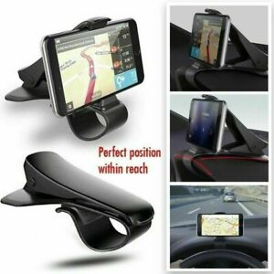 Black-Car-Cell-Phone-Dashboard-Mount-Holder-Stand-HUD-Cradle-For-Smart-Phone-GPS