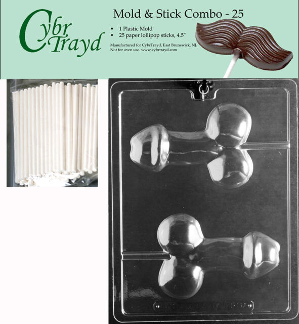 Medium Penis Lolly Adult Chocolate Mold Wcybrtrayd -8104