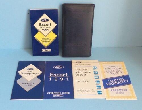 Car Manuals & Literature Vehicle Parts & Accessories 91 1991 Ford ...