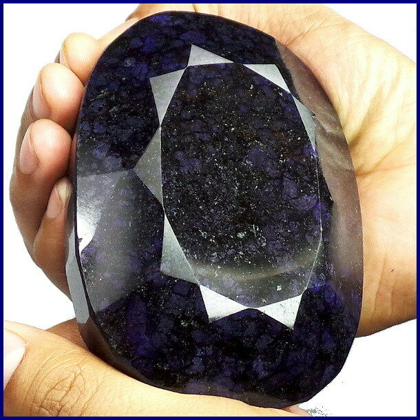 3145 CTS [KGCL CERTIFIED] NATURAL MUSEUM SIZE RARE OVAL BLUE SAPPHIRE GEMSTONE