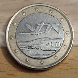 FINLANDE Série courante 1 euro 2001