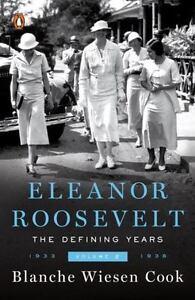 ELEANOR-ROOSEVELT-Volume-2-by-Blanche-Wiesen-Cook-FREE-SHIP-paperback-book-II