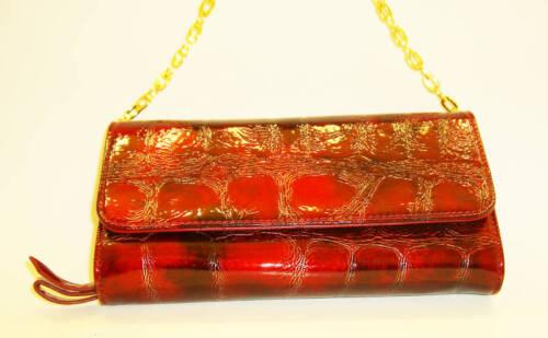 Pocketbook Desinger Handbag Burgundy Purse Pattern UVqMLpGSz