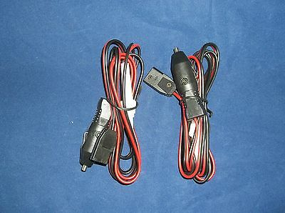 NEW 5 CB RADIO 3 PIN POWER CORD WITH CIG LIGHTER COBRA,UNIDEN,GALAXY,CONNEX ETC
