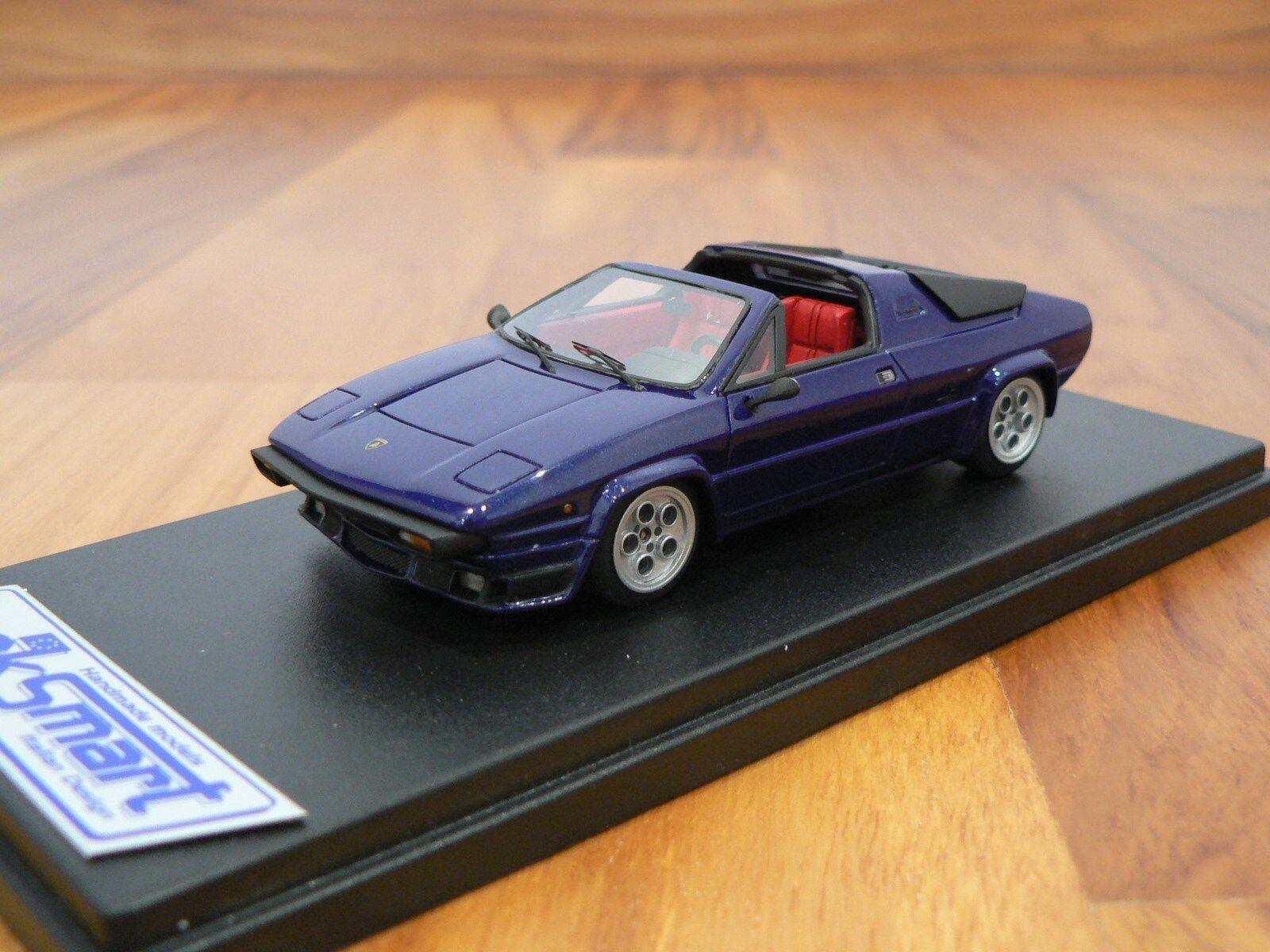 1 43 Looksmart Lamborghini Urraco 3000 Met bluee Free Shipping  MR BBR Frontiart