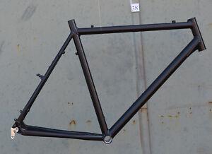 Trekkingrad-Sport-Herren-Rahmen-61-cm-schwarz-matt-28-034-Aluminium-STD-NR038