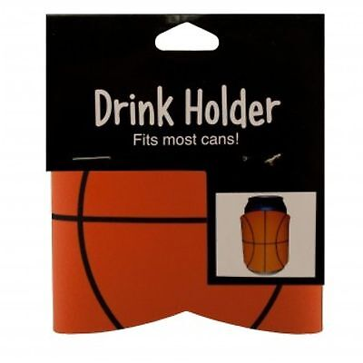 2 CAN DRINK BEER HOLDER KOOZIE BASKETBALL Fast FREE US Shipping