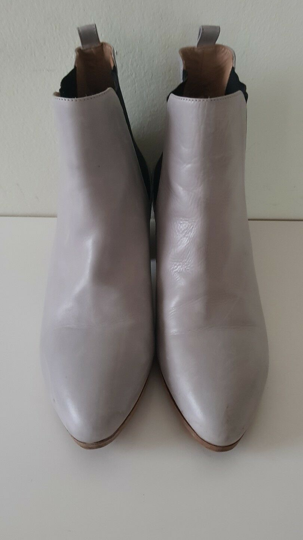 Neuwertige Kurz 39,5 Damen Stiefel PIGNOTTI ,Gr 39,5 Kurz Grau 180c13