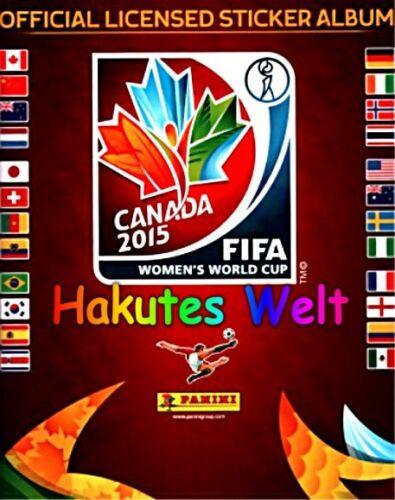 156-174 Mannschaft Thailand kompl Panini Fußball Frauen WM 2015 Canada Nr