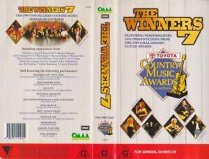 COUNTRY-MUSIC-AWARDS-THE-WINNERS-7-1999-TOYOTA-VHS-PAL-VIDEO
