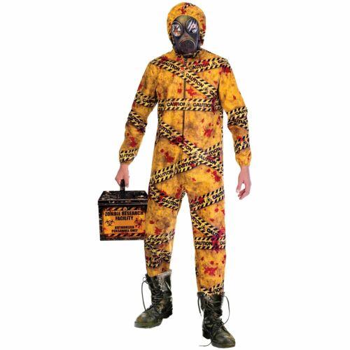 Quarantine Zombie Costume Mens Plus Size