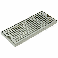 12l X 5w Draft Beer Drip Tray 304 Stainless Steel No Drain Removable Sanitary