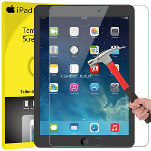 Genuine-TEMPERED-GLASS-Screen-Protector-For-Apple-iPad-9-7-034-6th-5th-Generation