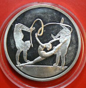 Griechenland-10-Euro-2004-Silber-Coin-KM-199-PP-Proof-F3104-Bandtanzerin-1-Uz
