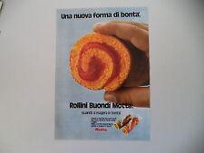 advertising Pubblicità 1972 ROLLINI BUONDI' MOTTA