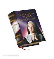 Miniature Book Santa Teresa De Jesus Hardcover Easy Read 329 Pages Español