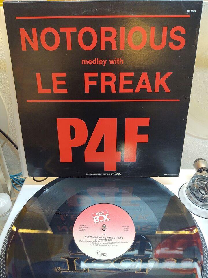 "Maxi-single 12"", P4f, Beat box"