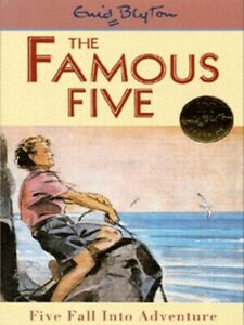 The-Famous-Five-Five-fall-into-adventure-by-Enid-Blyton-Paperback-Great-Value