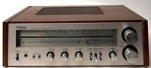 Vintage-Technics-by-Panasonic-sa-200-FM-AM-Stereo-Receiver-fuer-Reparatur-Befugnisse-auf