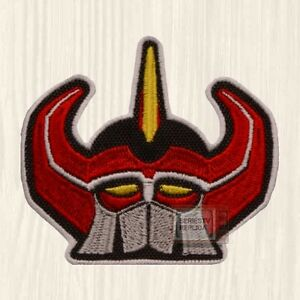 Power Rangers Red Mask Patch TV Series Mighty Morphin Jason Scott Embroidered