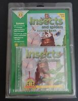 Insects And Spiders Activity Book + Cd Sealed Set Twin Sisters Free Shipping