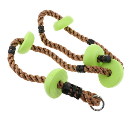 Safety Swing Ropes Disc Climbing Rope Gym Kingdom Play Set for Kids Adults