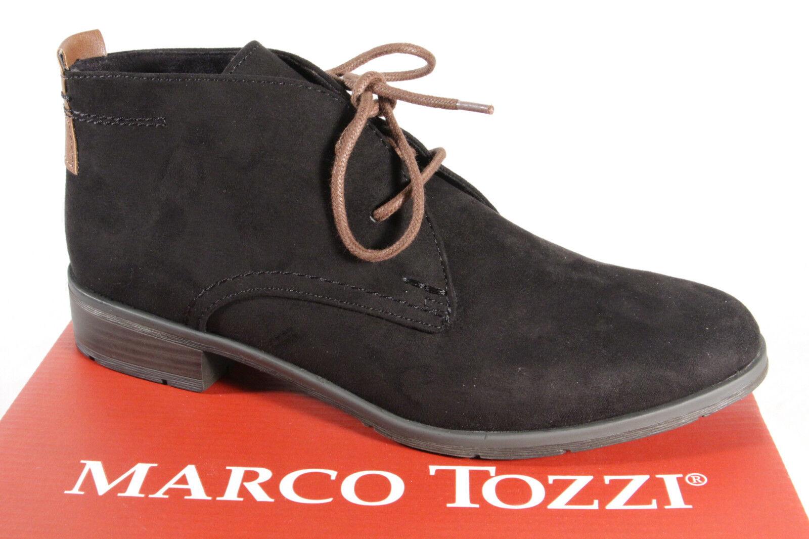 Marco Tozzi 25101 Botas Mujer, Botines, Botas negro NUEVO