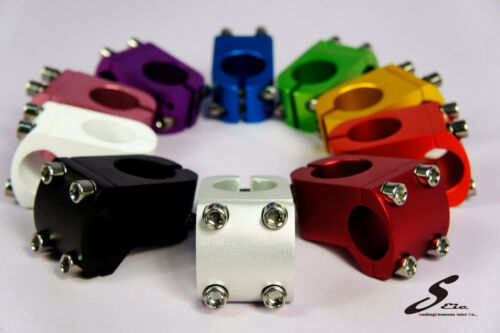 Bicycle Threadless 25.4 mm Stem COLORS Road Mountain Fixed Gear MIT OEM