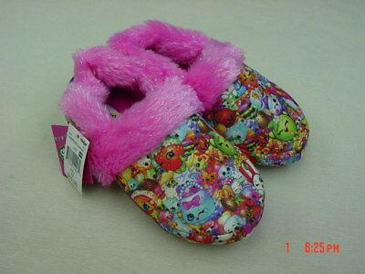 Scuff Slippers Cute Puppy w glitter bow girls LRG 2-3 pink//brown//tan NEW w Tags