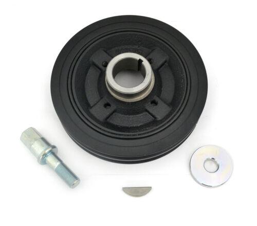 Crankshaft Pulley+Bolt+Key+Washer For Mitsubishi L200 K74 2.5TD 4D56 7//01-10//07