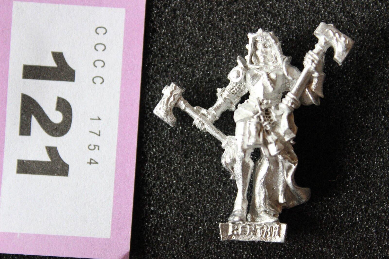 Games Workshop Mordheim Bertha Bestraufrung Sisters of Sigmar Mint Metal Figure
