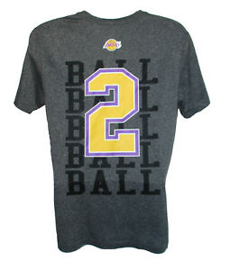 4741ffa62 Lonzo Ball  2 Los Angeles Lakers Adult Size 2X-Large 2XL Performance ...