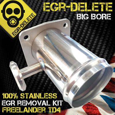 Land Rover Freelander TD4  EGR Removal Blanking Kit Made in Stainless steel New