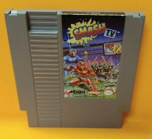 Smash-TV-Nintendo-NES-Game-Rare-Tested-Works-Great-Authentic