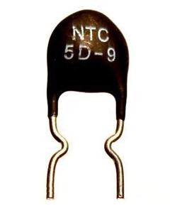 NTC5D-9 Sensor Temperatura NTC Termistor 5D-9 5 Ohm B 2800K 3A 5/% Cq