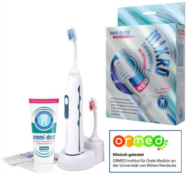 Emmi Dent Zahnbürste Ultraschall Professional 2.0