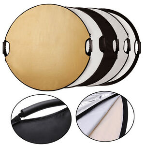 """Photography 43""""/110cm 5-in-1 Photo Studio Multi-Disc Collapsible Light Reflector"""