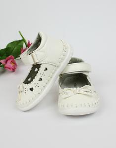 Taufschuhe festliche Babyschuhe Sommer Ballerina zum Taufkleid in creme Fußbett
