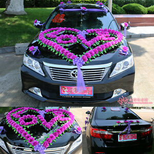 Wedding car decorations car flowers propose necessary for Decoration maison automobile