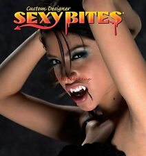 SEXY BITES CUSTOM WOMENS SIZE VAMPIRE FANGS MEDIUM TEETH NEW