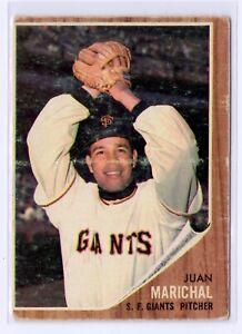 1962 Topps Baseball #505 Juan Marichal San Francisco Giants