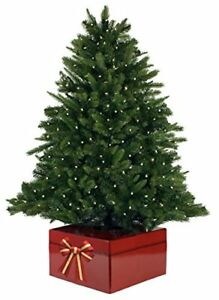 Christmas Tree Box Stand.Details About New The Original Christmas Tree Box Tree Stand Cover Red New Green Ribbon