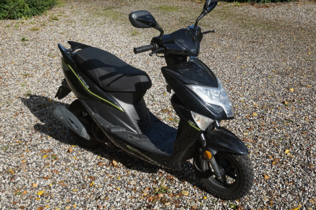 VGA Explora, Flot 45 scooter, VGA Explora. Er under et år…