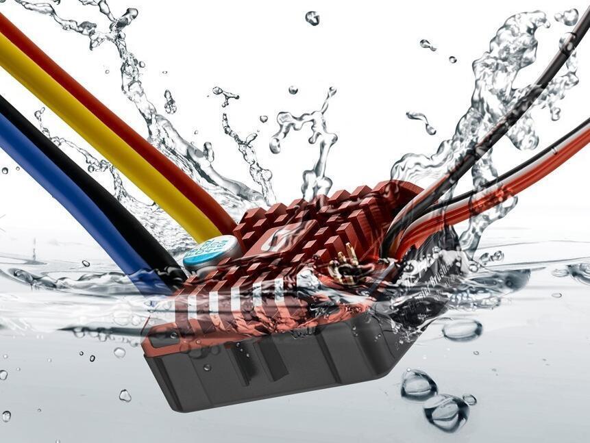 Hobbywing Quiccorrere WP 1080 Crawler Waterproof Brushed ESC Build-in BEC BEC BEC 2-3S d12c49